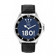 Men's 42mm Dark Blue 180 Darts Watch