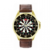 Men's 42mm Dartboard 180 Watch
