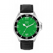 Men's 42mm Green Darts Batons Watch