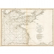 Vintage Nautical Chart - The British Channel and The Bay of Biscay